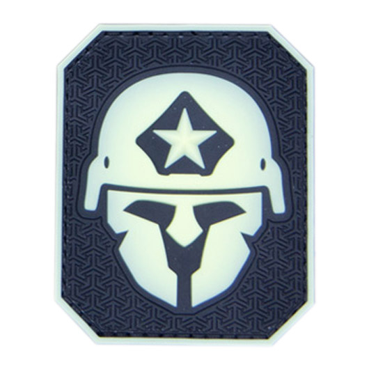 Mil-Spec Monkey 3D Rubber Patch Modern Spartan glow 0