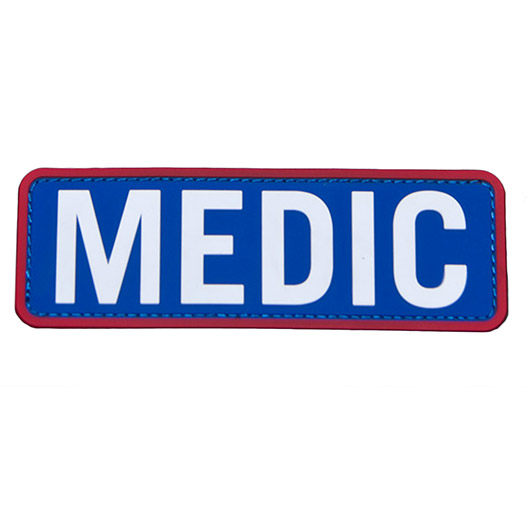 Mil-Spec Monkey 3D Rubber Patch Medic medical