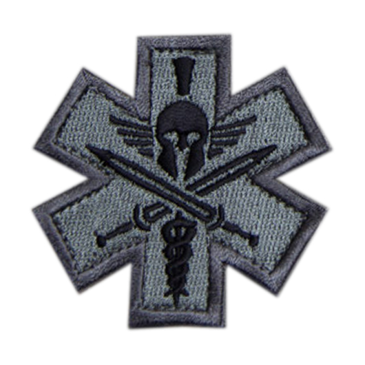 Mil-Spec Monkey Patch Tactial Medic - Spartan acu 0