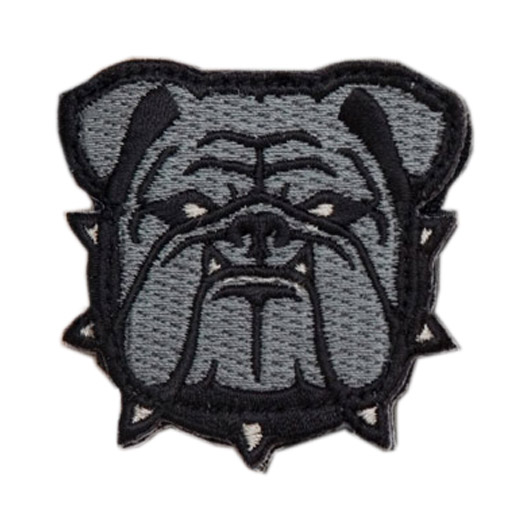 Mil-Spec Monkey Patch Bulldog Head acu