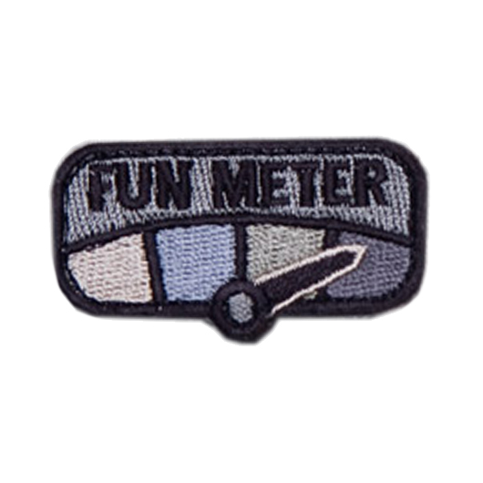 Mil-Spec Monkey Patch Fun Meter acu 0