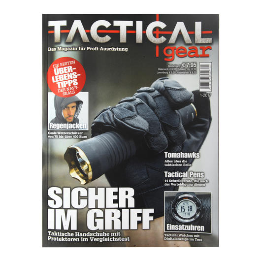 Tactical Gear Magazin Ausgabe 01/2017