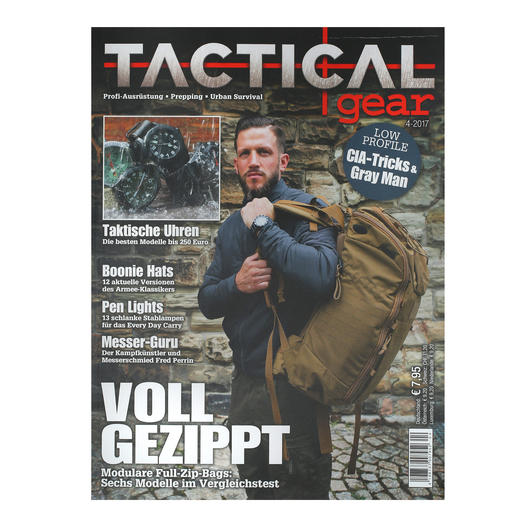 Tactical Gear Magazin Ausgabe 04/2017