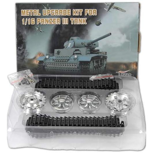 Metallketten Upgrade-Set für Panzer III 1:16