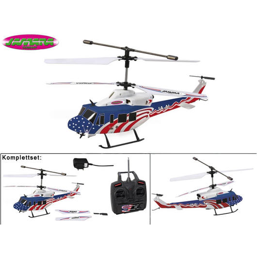 Jamara RC Hubschrauber Twin Huey Big 3+2 Kanal Ready To Fly