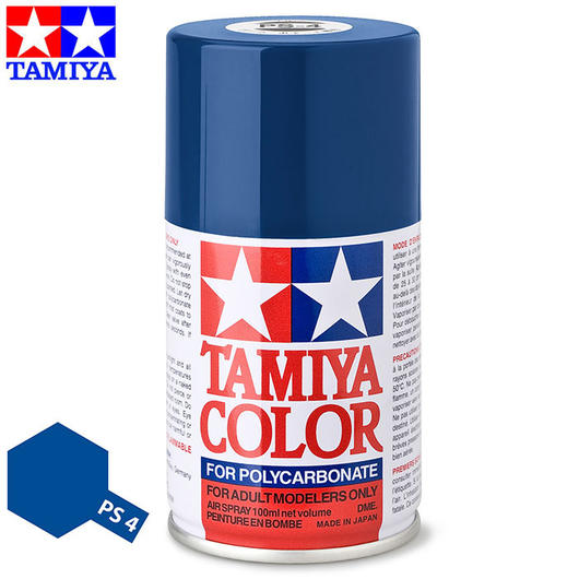 Tamiya PS-4 blau Lexan Spraydose 100ml