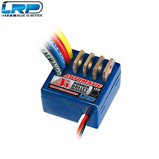 LRP Brushed Regler ESC A.I. Automatic Runner Bullet Reverse Waterproof - 13 Turn