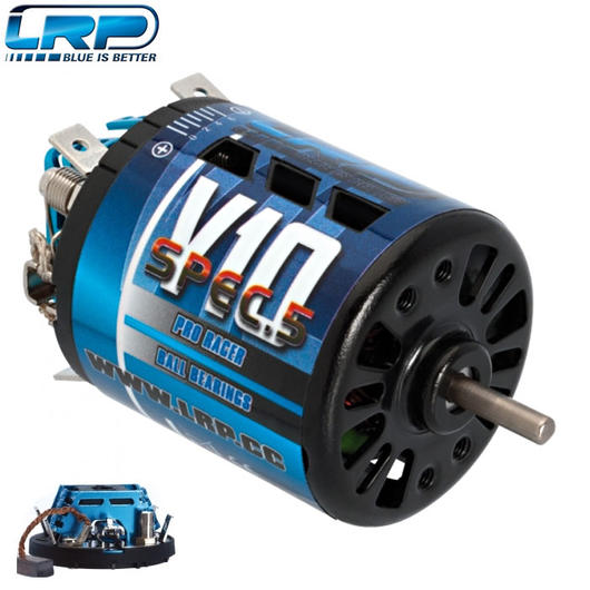 LRP V10 Spec5 Bürsten Motor 12x2 Turns