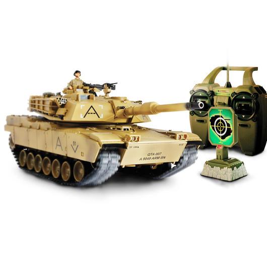 forces of valor rc panzer u s m1a1 abrams desert mit ir. Black Bedroom Furniture Sets. Home Design Ideas