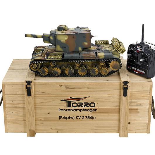 torro rc panzer russischer kv 2 airbrush metall profi. Black Bedroom Furniture Sets. Home Design Ideas