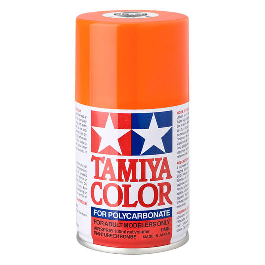 Tamiya PS-24 neon orange Lexan Spraydose 100ml