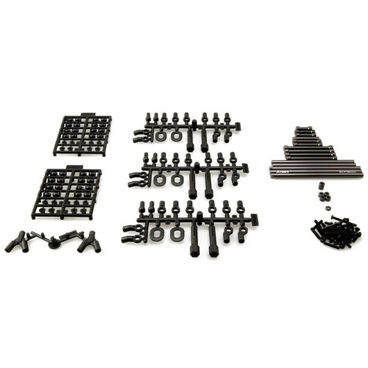 Axial SCX10 Aluminium TR-Links Upgrade Kit 12,3 Zoll / 313mm AX30550