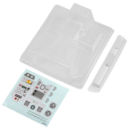 Axial Wraith Interior Set - transparent inkl. Aufkleber AX04028