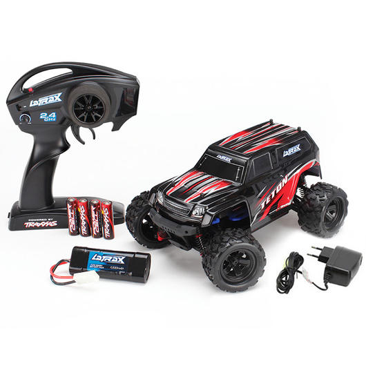 LaTrax 1:18 Teton 4WD Monster Truck 2,4 GHz 100% RTR Set wasserdicht TRX76054-1