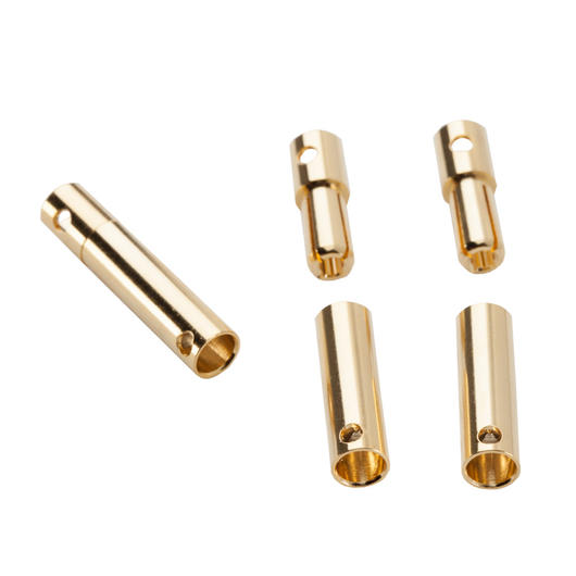Castle Creations CC 4mm Goldkontakt Bullet Connectors Set (3 Paar) CSECCBUL43