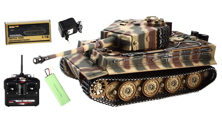 torro rc panzer tiger i professional edition 1 16. Black Bedroom Furniture Sets. Home Design Ideas