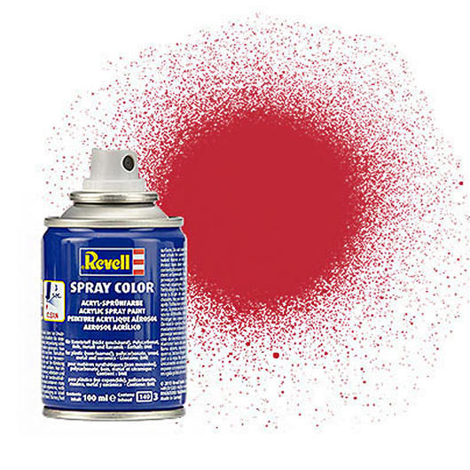 Revell Acryl Spray Color Sprühdose Kaminrot matt 100ml 34136