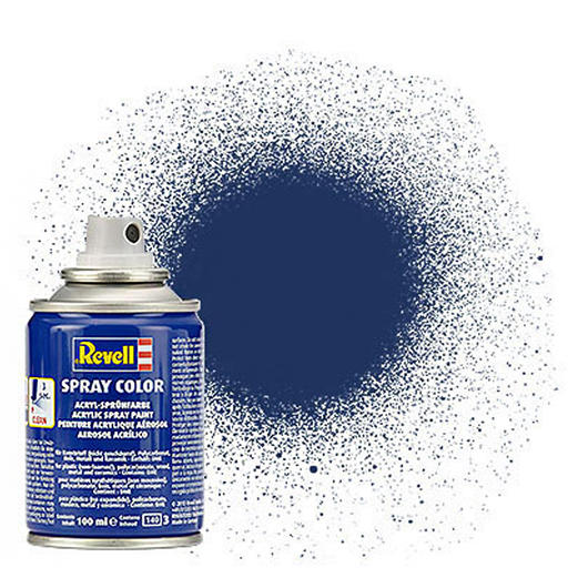 Revell Acryl Spray Color Sprühdose RBR Blue metallic 100ml 34200
