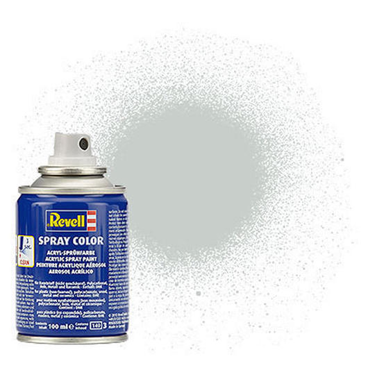 Revell Acryl Spray Color Spr�hdose Hellgrau seidenmatt 100ml 34371