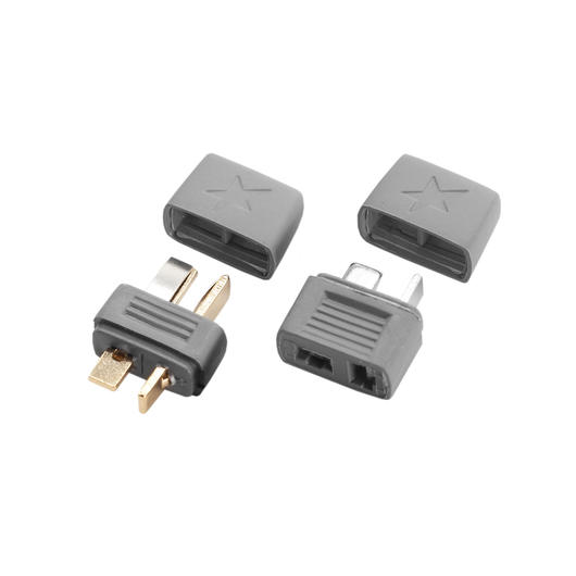 Star Plug Goldkontakt T-Stecker Set (1x Set) HCAM4001
