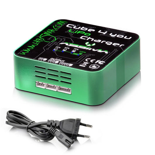 Absima Cube 4 You Charger LiPo Ladegerät 2S - 4S 230V 4000030