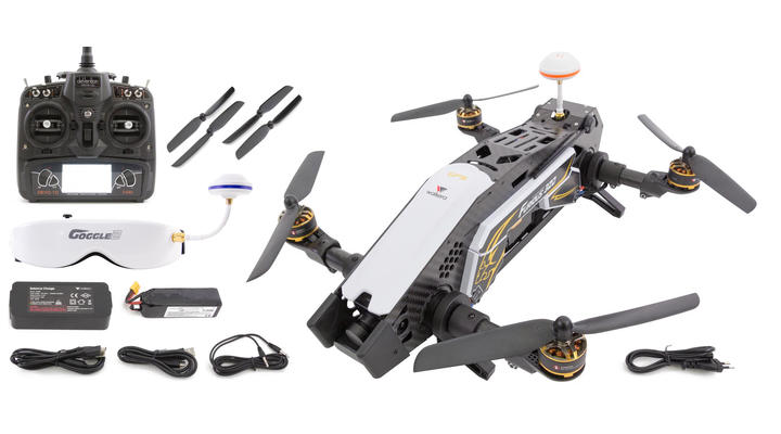 Walkera Furious 320 FPV Race Quadcopter 2,4 GHz RTF Set inkl. Goggle 2 Brille 15003850