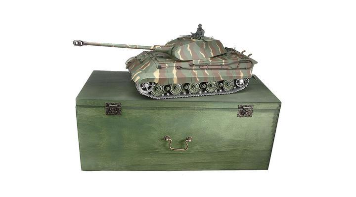 rc panzer k nigstiger tiger ii metallketten 1 16. Black Bedroom Furniture Sets. Home Design Ideas