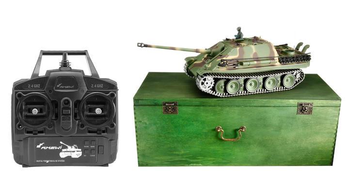 amewi rc panzer jagdpanther g metallketten 1 16. Black Bedroom Furniture Sets. Home Design Ideas