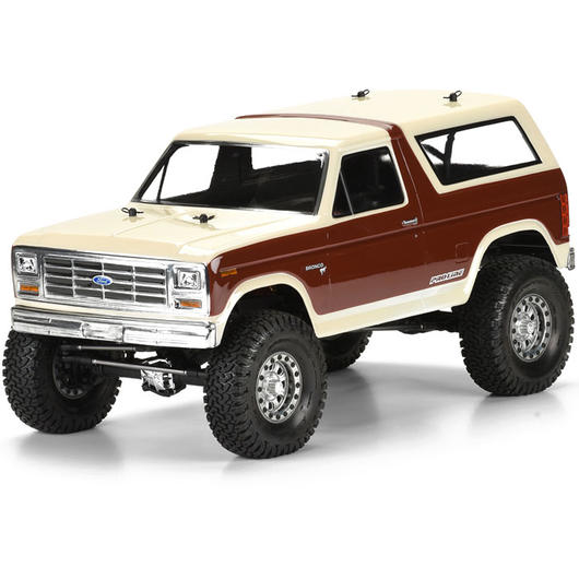 Pro-Line 1:10 Lexan Karosserie Ford Bronco 1981 f. Scale Crawler 313mm 3472-00