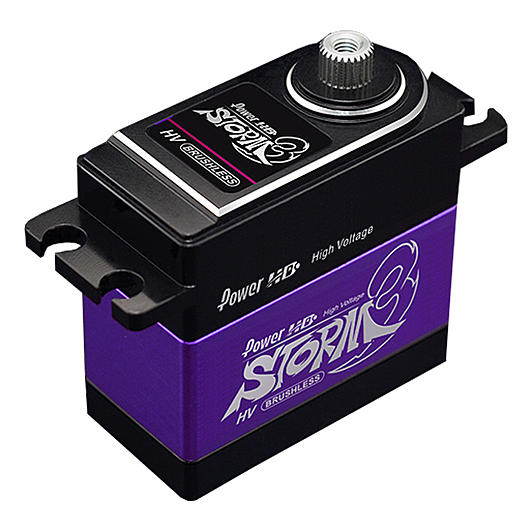 Power HD Brushless Servo Storm-3 HV Standard 32,0kg / 0.11 bei 7.4V