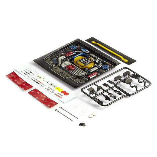 Killerbody 1:10 Motoreinsatz Touring Car Type-F lackiert KB48497