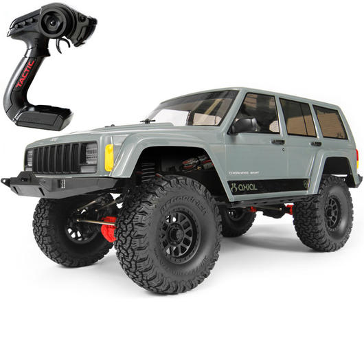 Axial 1:10 SCX10 II Jeep Cherokee 2000 4WD Scale-Truck 2,4 GHz RTR Set AX90047