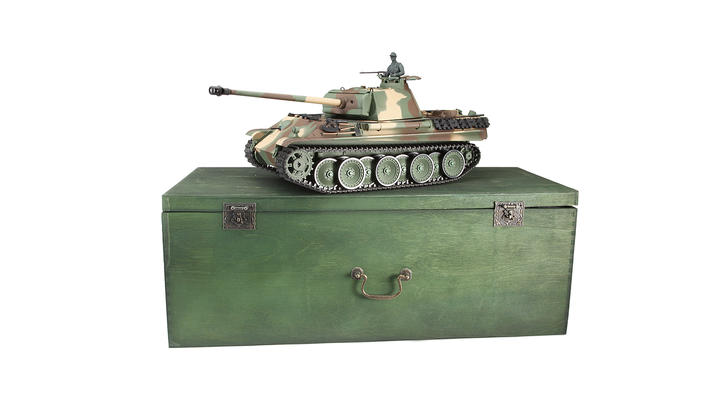rc panzer panther g control edition 1 16 schussf hig rtr. Black Bedroom Furniture Sets. Home Design Ideas