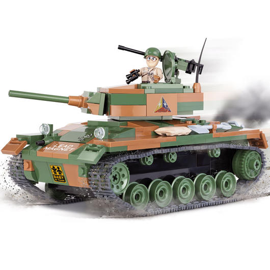 Cobi World Of Tanks Roll Out Small Army Bausatz Panzer M24 Chaffee 370 Teile 3013
