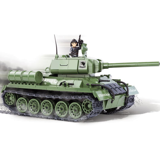 Cobi World Of Tanks Roll Out Small Army Bausatz Panzer T-34 / 85 425 Teile 3005