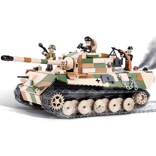 cobi small army bausatz panzer vi b tiger ii k nigstiger. Black Bedroom Furniture Sets. Home Design Ideas