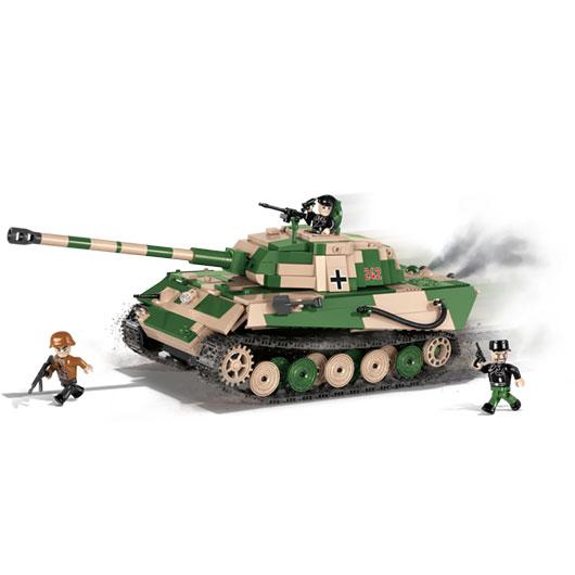 cobi small army bausatz panzer sd kfz 182 k nigstiger 630. Black Bedroom Furniture Sets. Home Design Ideas