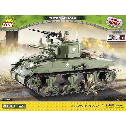 cobi small army bausatz panzer sherman m4a1 400 teile 2464. Black Bedroom Furniture Sets. Home Design Ideas