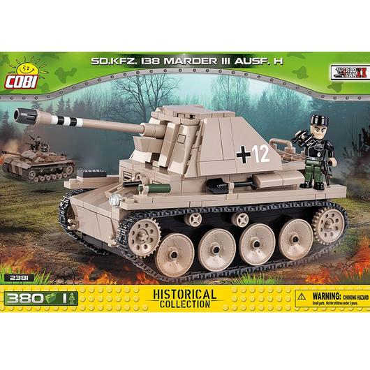 cobi small army bausatz panzer sd kfz 138 marder iii ausf. Black Bedroom Furniture Sets. Home Design Ideas