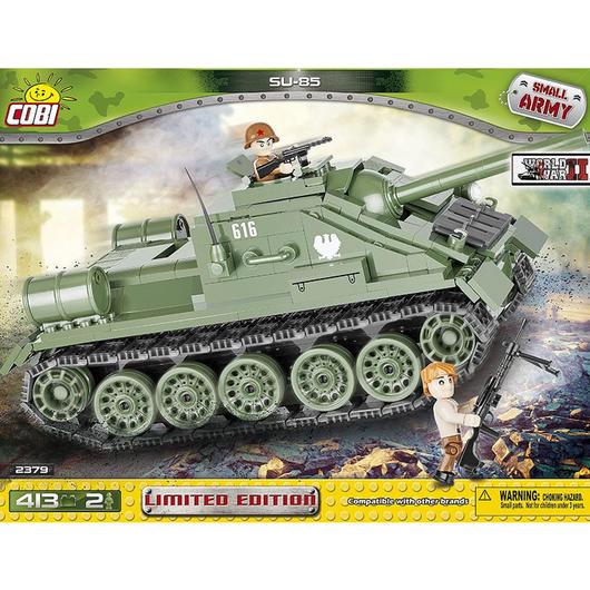 cobi small army bausatz panzer su 85 tank destroyer 413. Black Bedroom Furniture Sets. Home Design Ideas