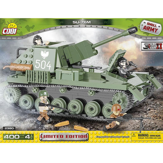 cobi small army bausatz panzer su 76m tank destroyer 400. Black Bedroom Furniture Sets. Home Design Ideas