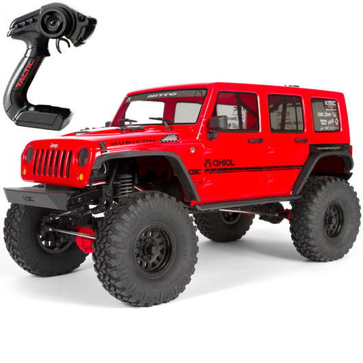 Axial 1:10 SCX10 II Jeep Wrangler Unlimited CRC 2017 4WD Scale-Truck 2,4 GHz RTR Set AX90060 0