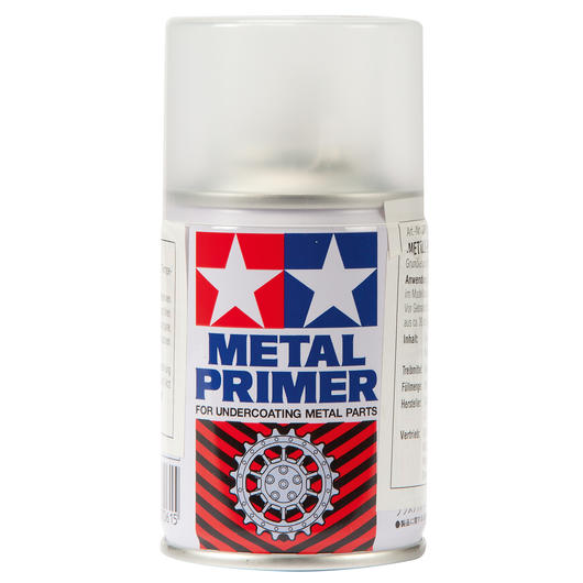 Tamiya Metal Primer farblos Grundierspray 100ml 87061