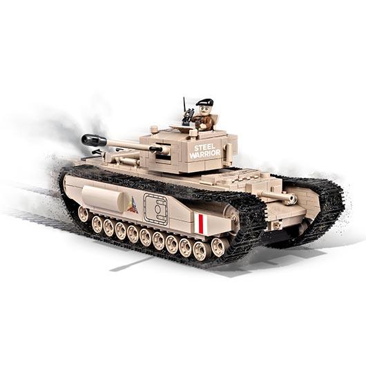 cobi word of tanks small army bausatz panzer churchill i. Black Bedroom Furniture Sets. Home Design Ideas