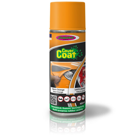 Jamara Cover Coat Flüssiggummi neon orange 400ml Spraydose 231614 0