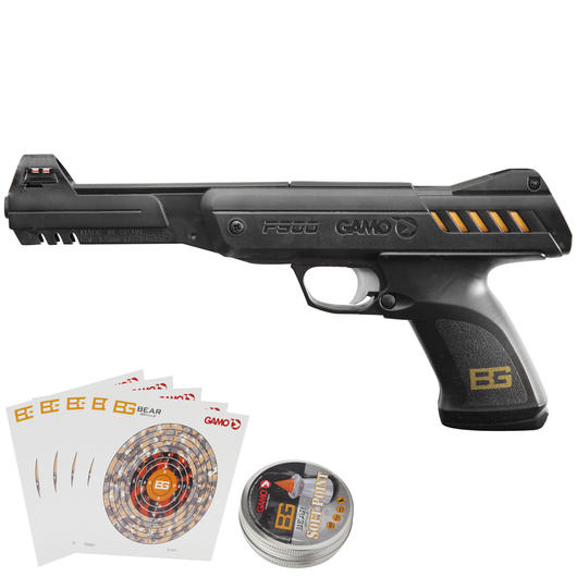 Gamo P-900 Luftpistole 4,5mm Diabolo Bear Grylls Edition Set