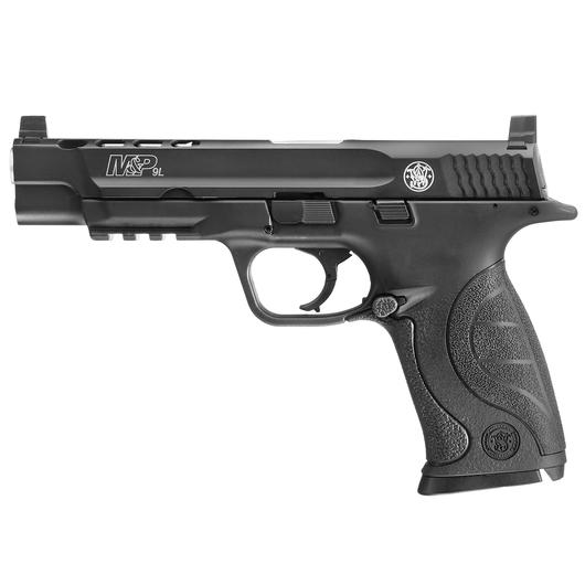 Smith & Wesson M&P 9L CO2-Luftpistole 4,5 mm BB Vollmetall Blowback