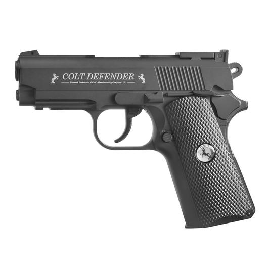 Colt Defender CO2 Pistole 4,5mm (.177) BB schwarz Vollmetall