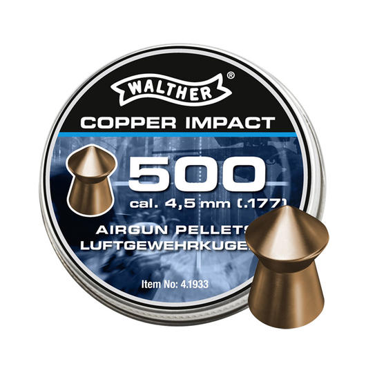 Walther Spitzkopf-Diabolos Copper Impact 4,5mm 500 Stück